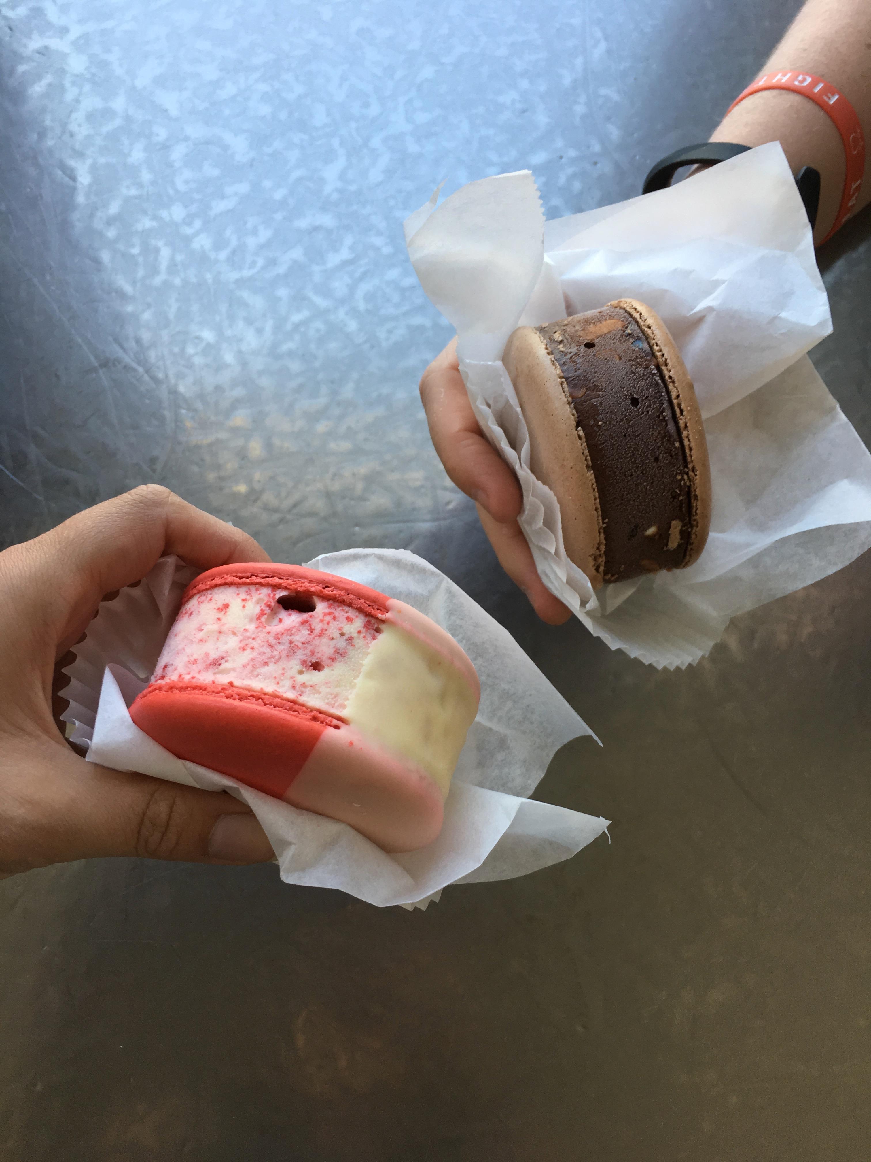 Los Angeles Food - ice cream sandwiches