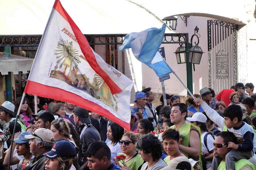 Salta - Fiesta Virgen Milagro Drapeau