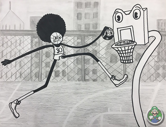 Get Dunked On (AP Art Project)