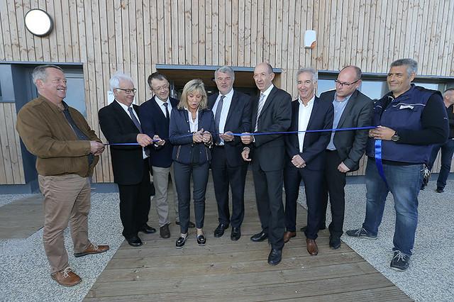 Inauguration du pôle épuratoire Nord