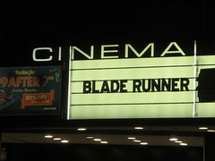 Blade Runner 2049 Theater Marquee 2017 NYC 2337