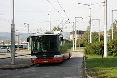 Trolley bussen in Slovakije