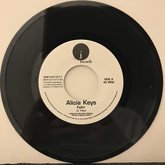 ALICIA KEYS:FALLIN'(RECORD SIDE-A)