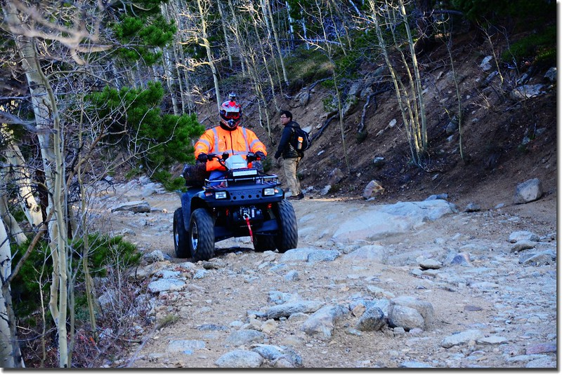 ATV on the trail (2)