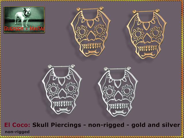 Bliensen - Skull Piercings