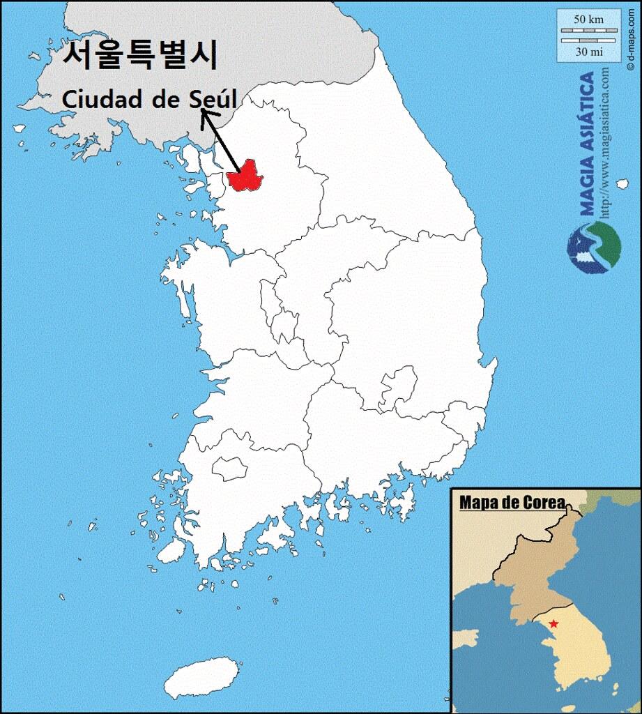 Mapa Final Seul Magiasiatica Flickr