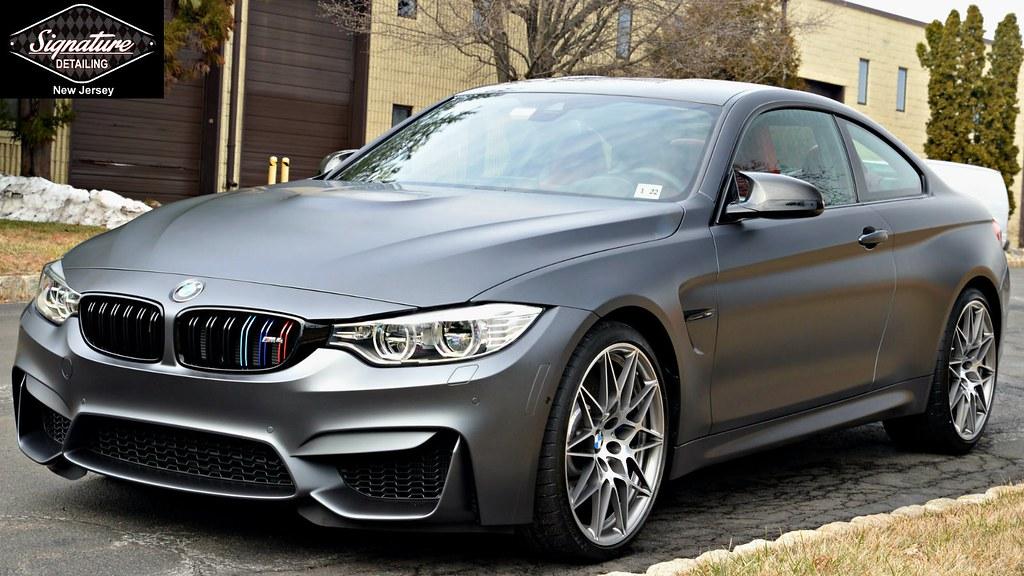 Signature Detailing NJ & NYC - BMW M4 Xpel Stealth Matte PPF