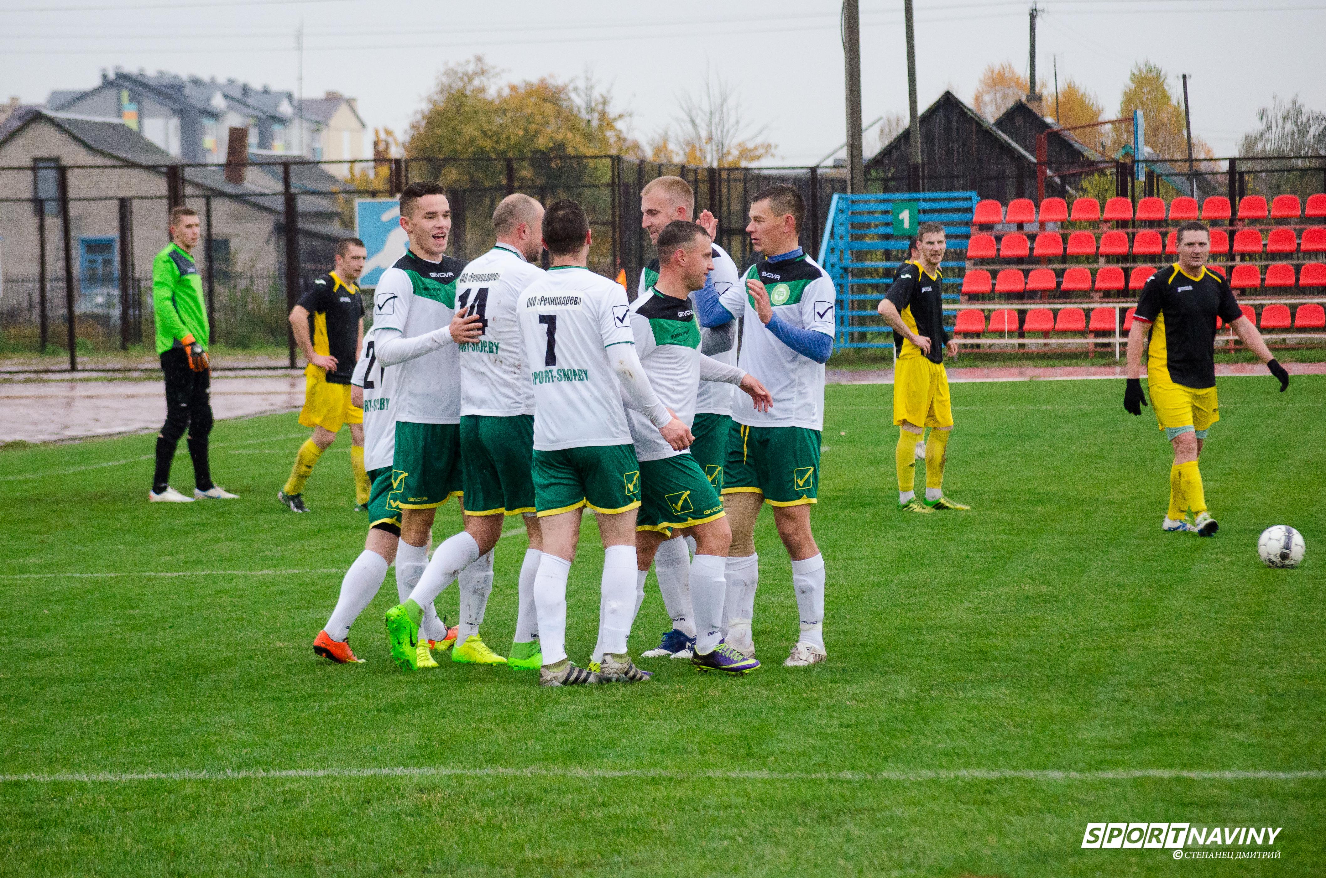FC Luban 0:3 FC Sputnik. 21/10/2017