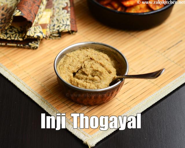 ginger-thogayal