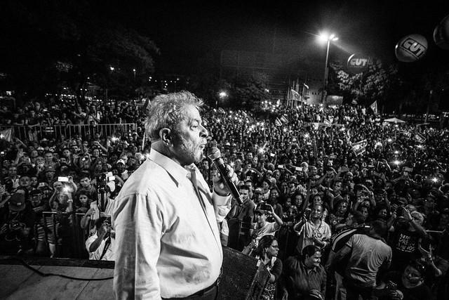Lula é pré-candidato à presidência pelo PT - Créditos: Oliver Kornblihtt/Mídia Ninja