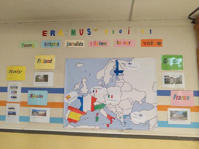 Erasmus plus corner!