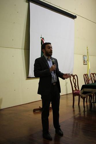 Conferencia de prensa en la Aquidiócesis Primada de México