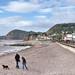 The beach at Sidmouth, Devon