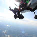 Experienced Female Skydivers Attempting To Claim A State Record Over The Skies Of Michigan