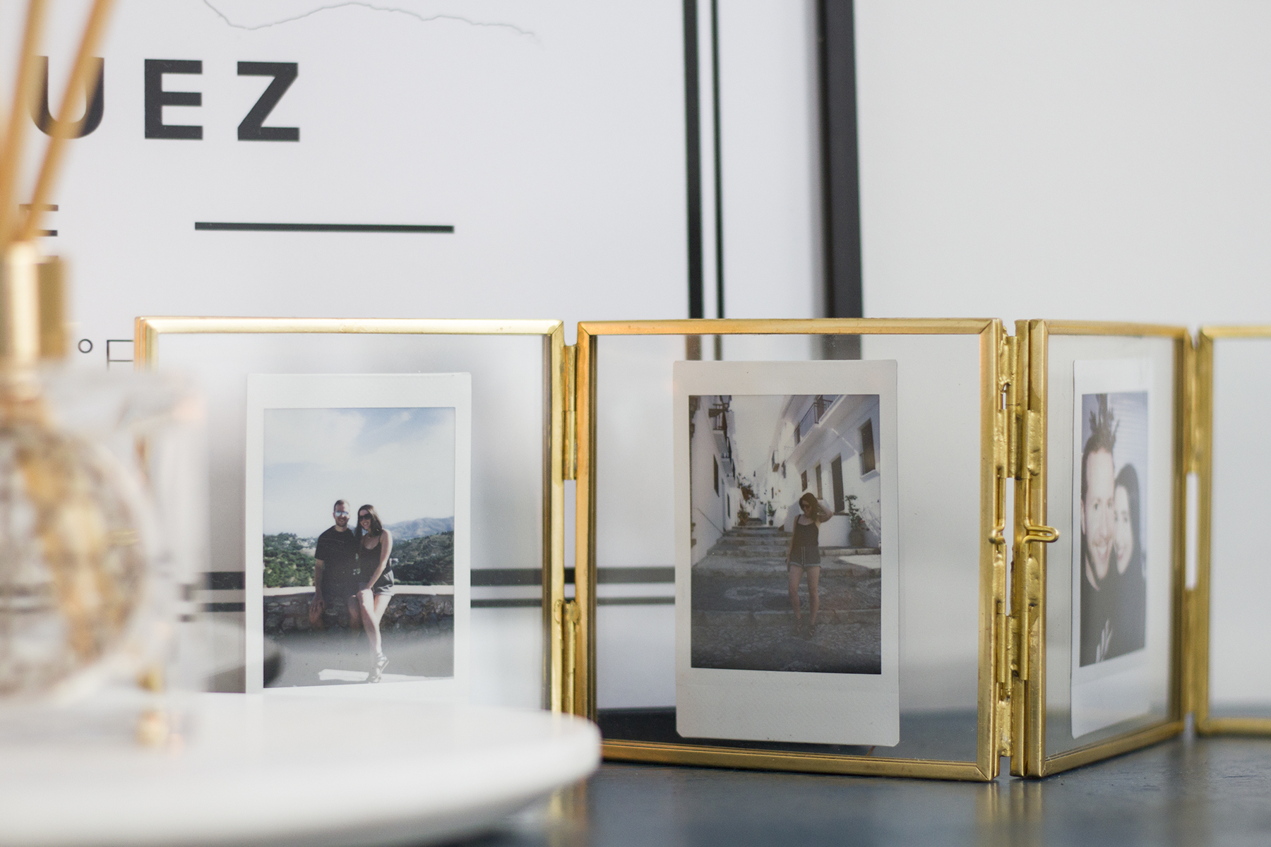 Oliver Bonas Gold Photo Frames