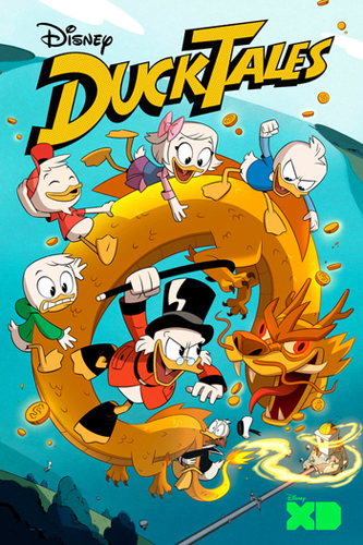 Ducktales 2017 - season 1 poster