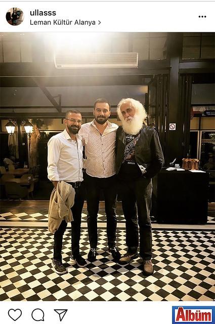 Leman Kültür Alanya'nın ortaklarından Avukat Ulaş Özgen, Cüneyt Güzel ve usta yorumcu Suavi ile birlikte bu fotoğrafı yayınladı.