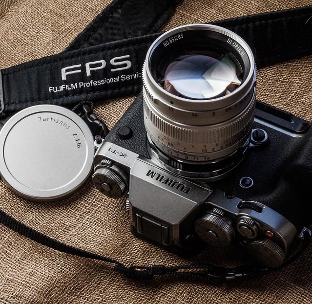 FUJIFILM X-T1 & 7artisans 50mm f1.1
