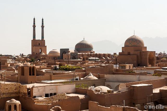 Casc antic de Yazd