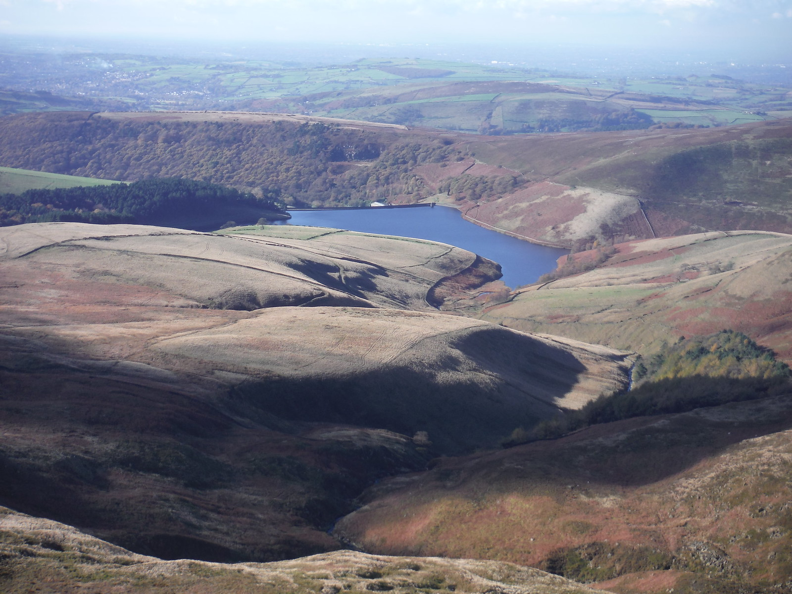 Kinder Reservoir SWC Walk 304 - Kinder Scout Circuit (from Edale)