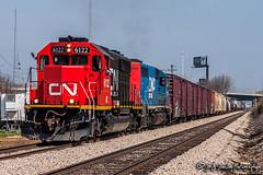 IC 6122 | EMD SD40-2 | CN Fulton Subdivision