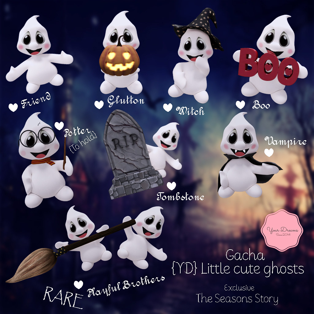 {YD} Little cute ghosts ♥ - TeleportHub.com Live!