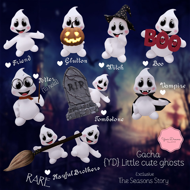 {YD} Little cute ghosts ♥