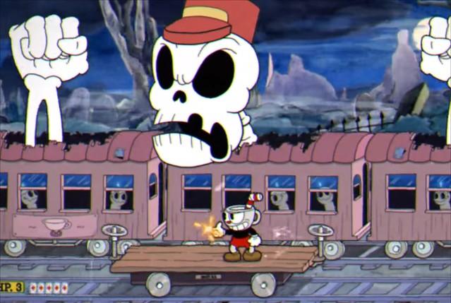 Cuphead - Phantom Express