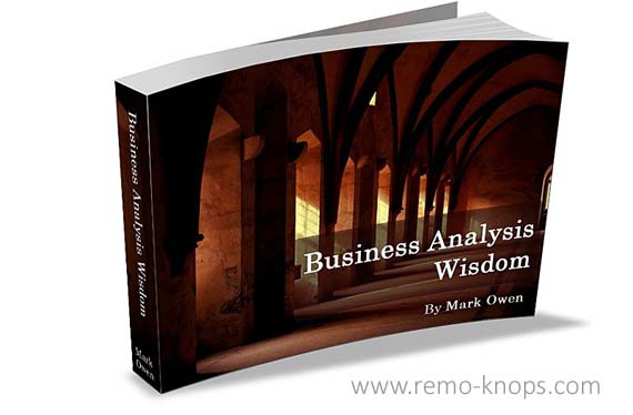 Mark J. Owen - Business Analysis Wisdom eBook Cover