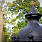 Victorian fountain in Ashton Park Preston