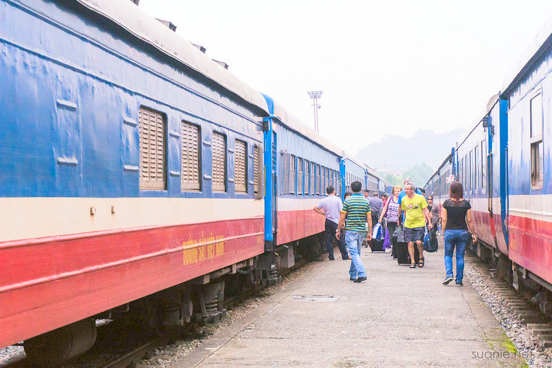 Hanoi Sapa train - sleeper train