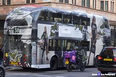 Wrightbus NRM NBFL - LTZ 1223 - LT223 - Coach - 38 - Arriva London - London 2016 - Steven Gray - IMG_5132