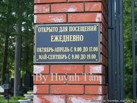 nghia trang_kuntsevo