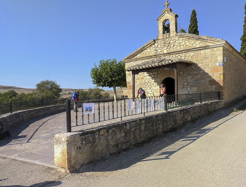 Day 15 September 20 -b - small countryside church three hours walk outside of Burgos4