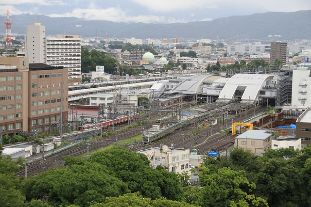 Odawara Station Bird's eye view