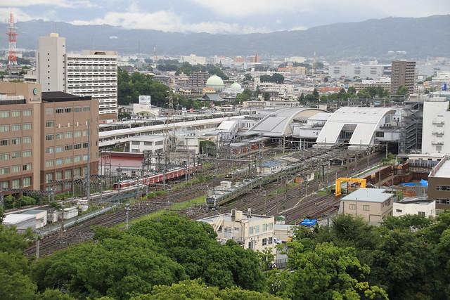 Odawara Station Bird's eye view