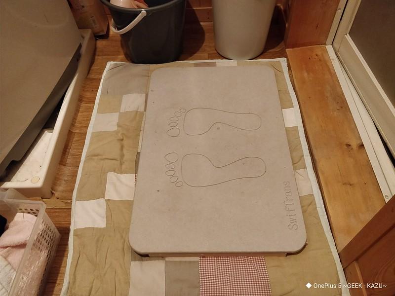 DIY 珪藻土とすのこを合体 (7)