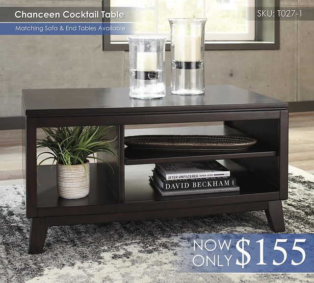 Chanceen Cocktail Table T027-1