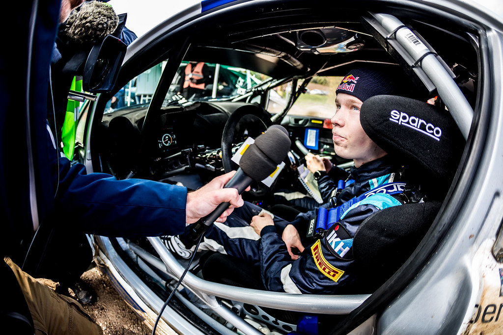 Rovanpera Kalle, Ford Fiesta R5 ambiance portrait during the 2017 European Rally Championship ERC Liepaja rally,  from october 6 to 8, at Liepaja, Lettonie - Photo Thomas Fenetre / DPPI