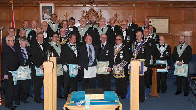 2017 10 05 Official Visit to Tuscan Lodge No. 551