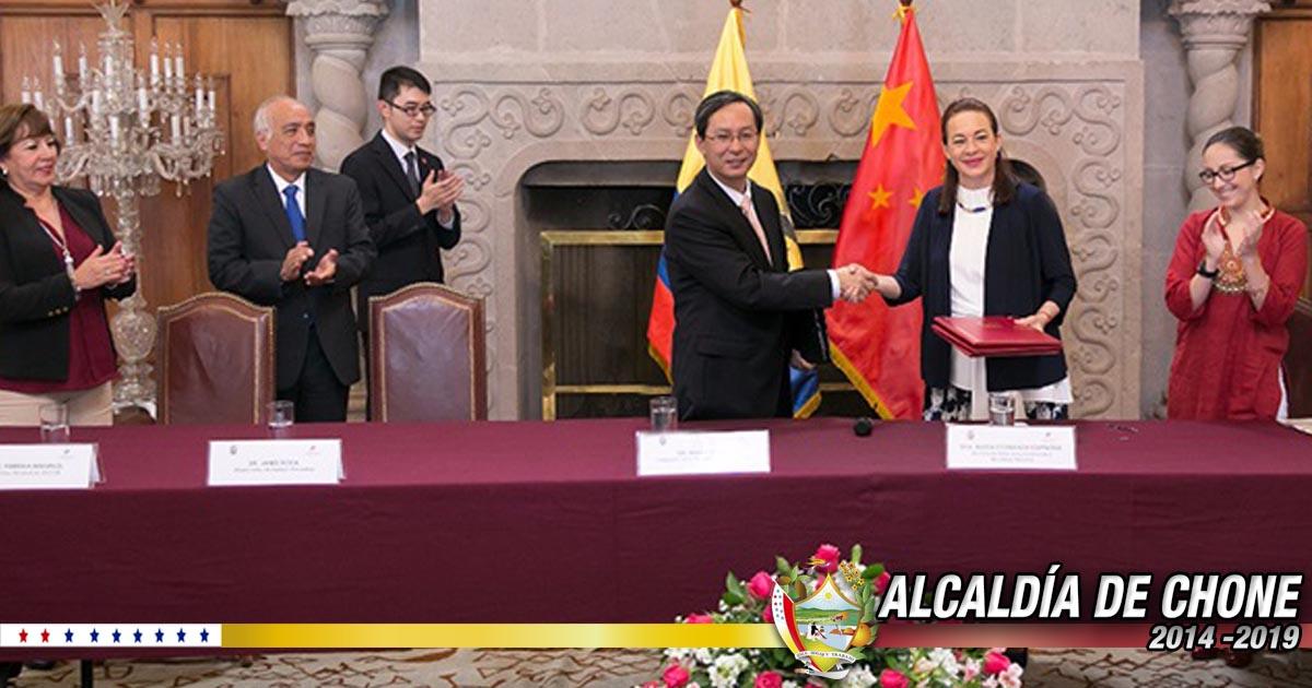 En Quito se firmó acuerdo de cooperación para la construcción del hospital de Chone