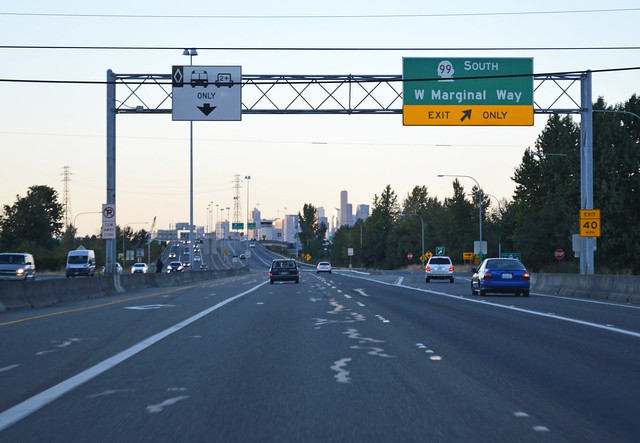 SR 509 @ SR 99 north southward