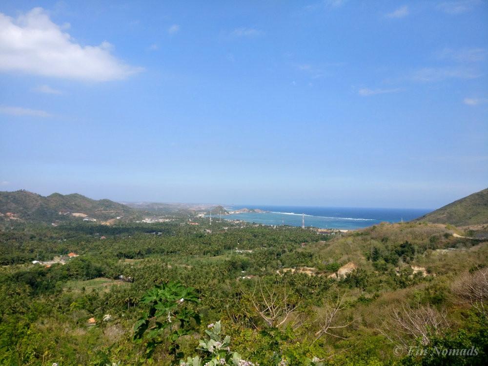 Kuta Lombok hill view