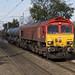 66058 passes Marston Green working RHTT 3J01 1050 Bescot - Bescot via West Midlands, Euston and WCML 17/10/2017