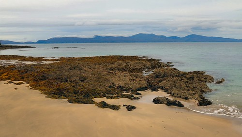 27th September 2017. Clew Bay from Old Head Beach, County Mayo, Ireland
