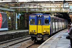 314208 arrives at Greenock West