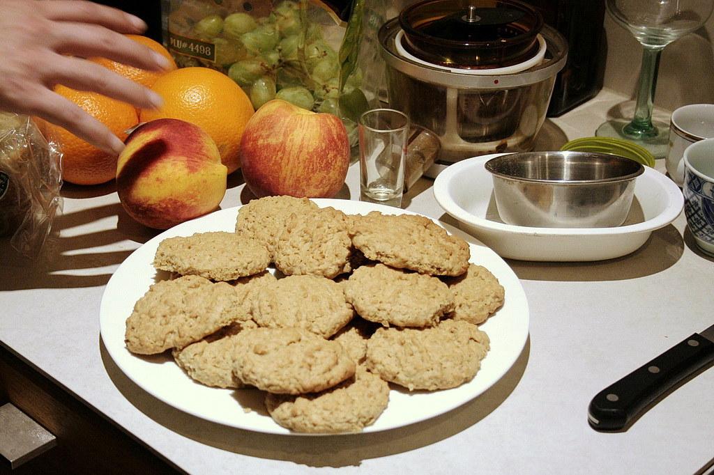 my homemade oatmeal cookies! 2