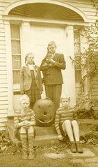Merry Halloween from Brunswick, Maine, 1943 (Cropped)