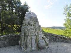 Scott's View Monument, Glen Prosen, Angus, Sep 2017