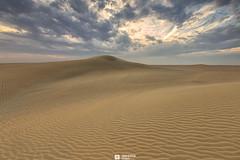 Kuwait - Alsalmi Desert - Sunset In The Desert